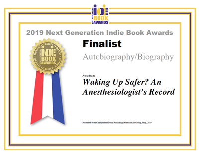 Finalist for the Next Generation Indie Book Awards